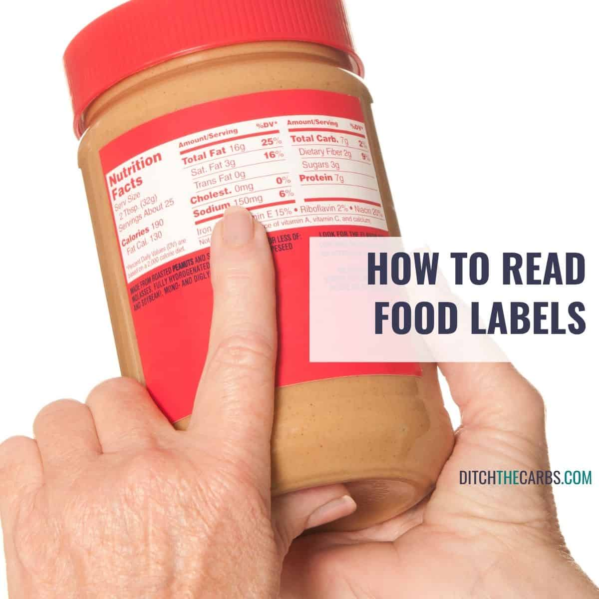 How To Read Nutrition Labels Like a Pro