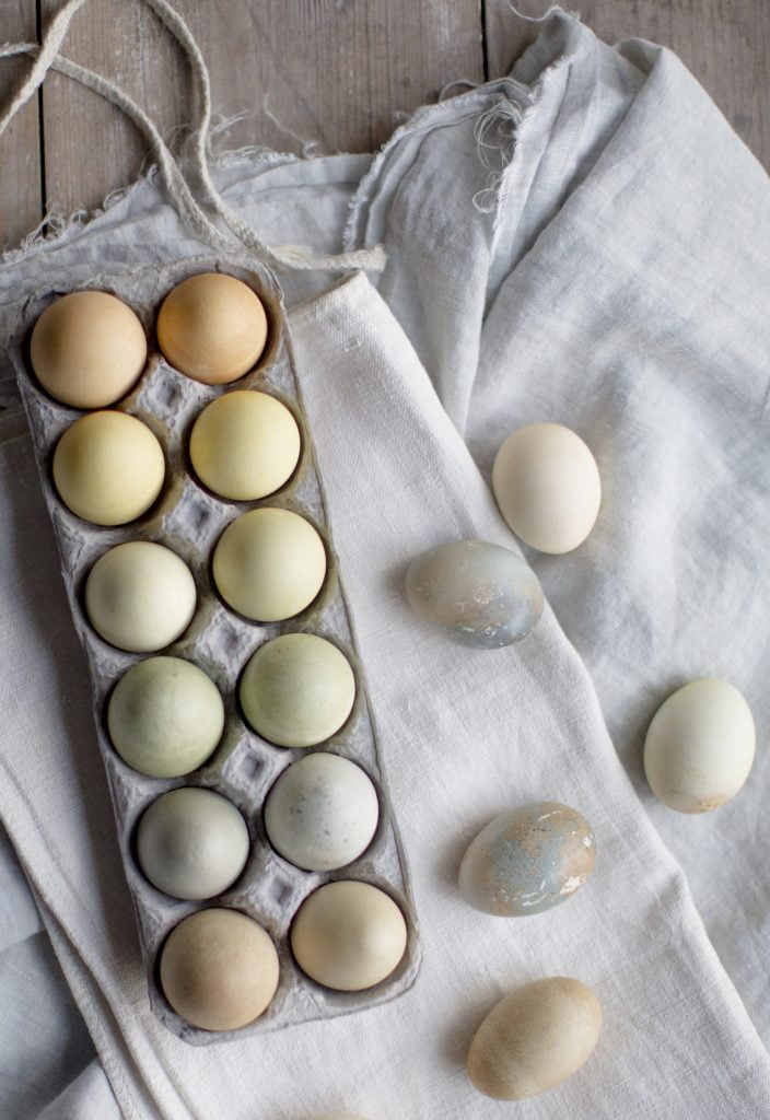 Natural Tea Dyed Easter Eggs - Say Yes