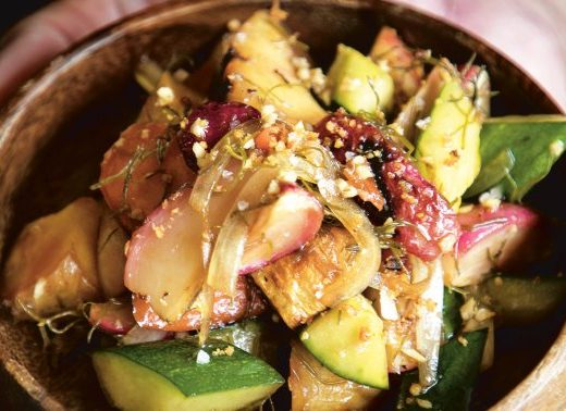 How A Top Chef Makes The Perfect Vegan Poke, Full Of Color & Texture