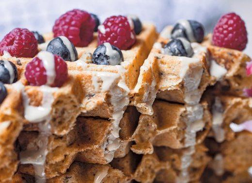 We Found A Crispy Vegan & Gluten-Free Waffle Recipe That Rivals The Classic