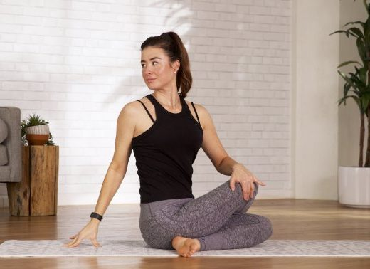 Try This 12-Minute Flow Before Bed (Or Any Time) To Melt Away Tension