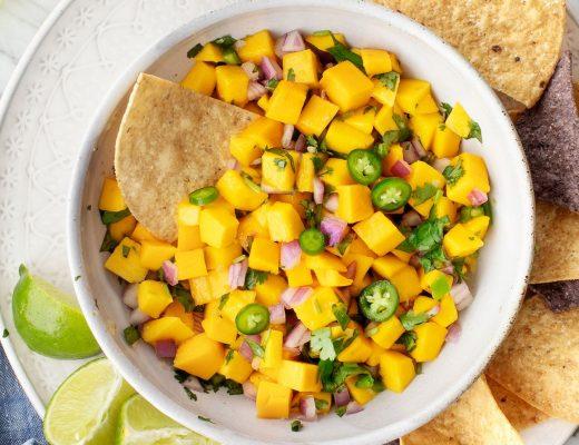 Easy Mango Salsa - Love and Lemons