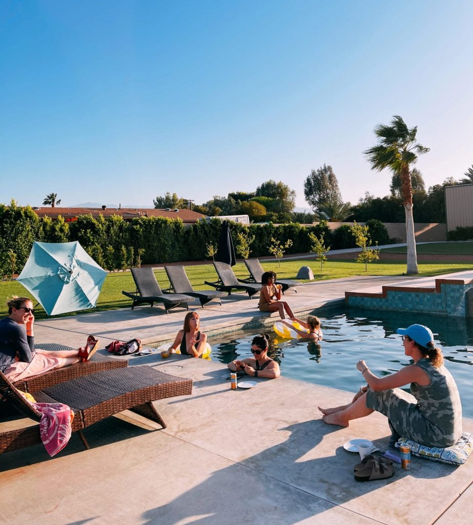 The Huddle: Palm Springs - Say Yes