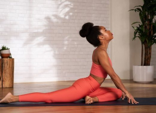 This Juicy Yoga Pose Opens Your Hips, Heart Chakra & More — If You Do It Right
