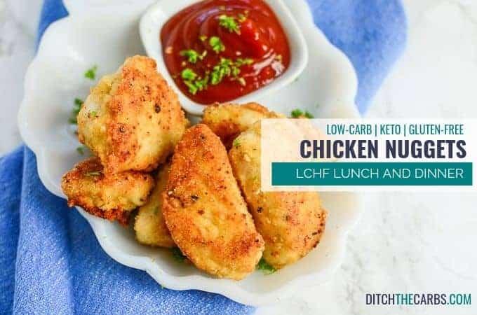 GENIUS! Low-Carb Chicken Nuggets