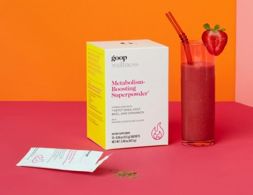 goop Metabolism-Boosting Superpowder on a table