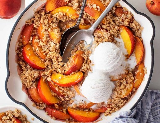 Peach Crisp - Love and Lemons