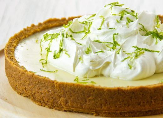 You'd Never Guess This No-Bake Key Lime Pie Features A Secret Healthy Ingredient