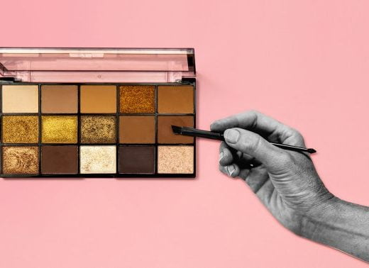 You've Been Applying Powder Makeup Wrong—A Genius Tip To Keep It In Place